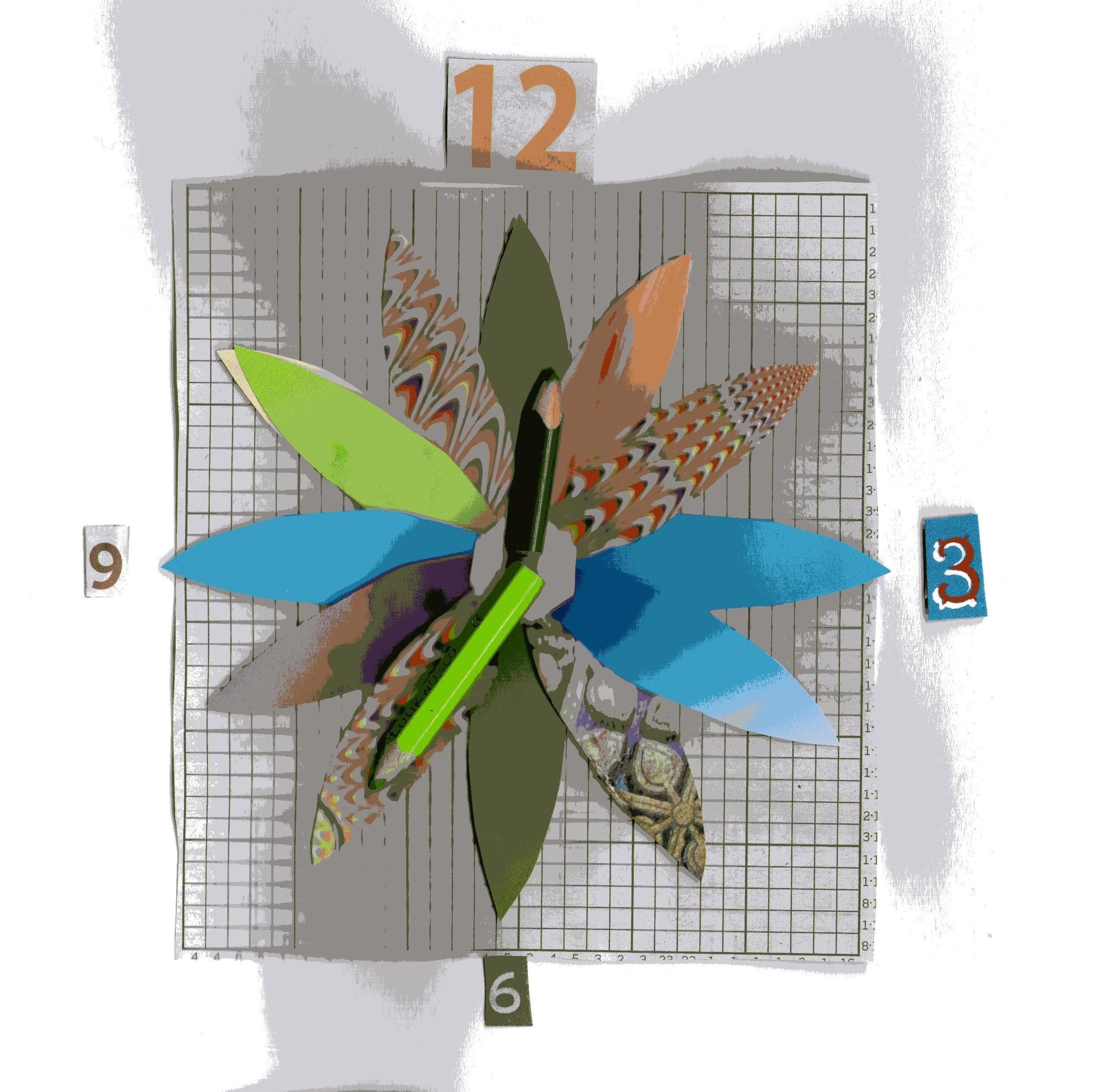 collage clock