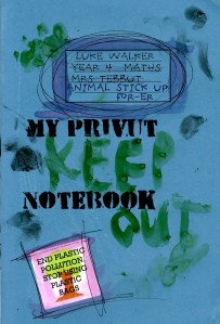 Luke Walker: animal stick up for-er: MY PRIVUT NOTEBOOK