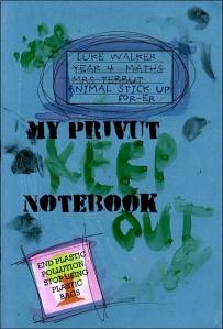 vegan notebook for children