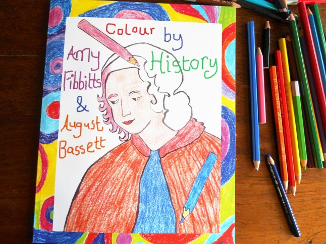 Colour By History by August Bassett and Amy Fibbitts