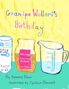 children's story/recipe book
