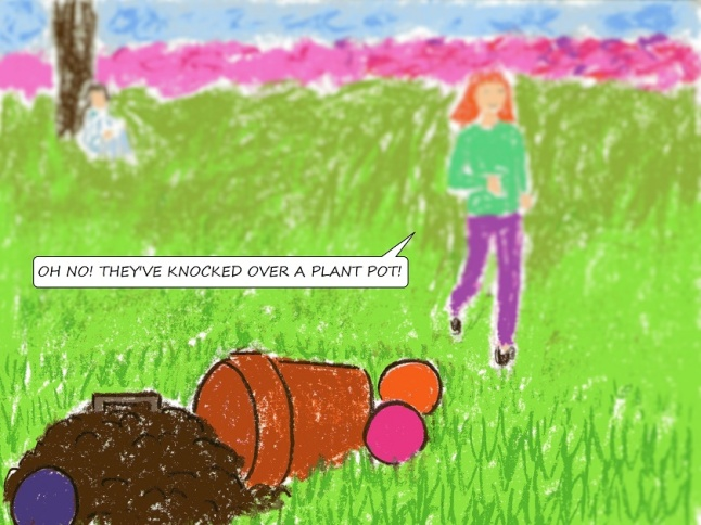 vegan children's comic
