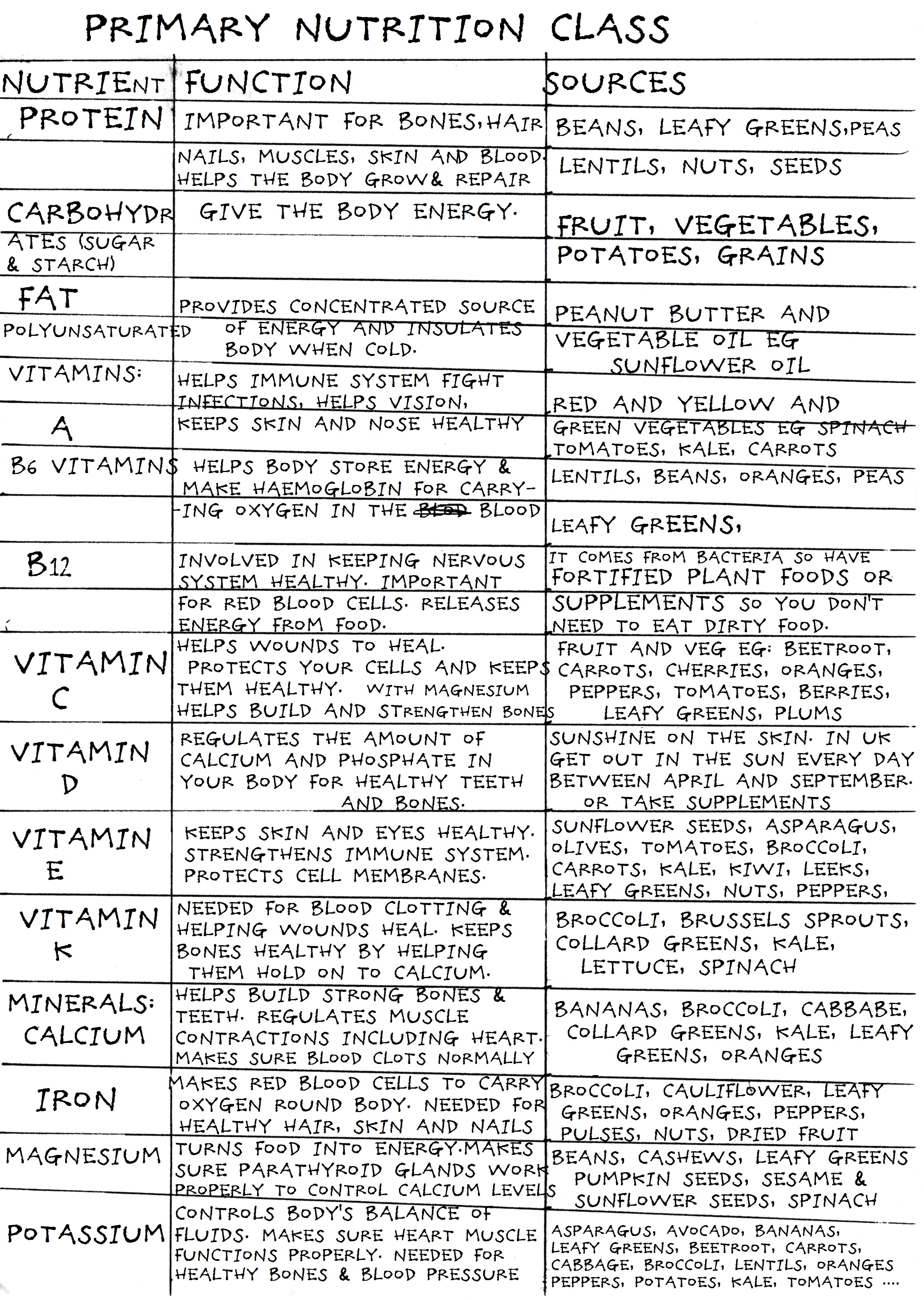 Luke's primary nutrition class chart (2)