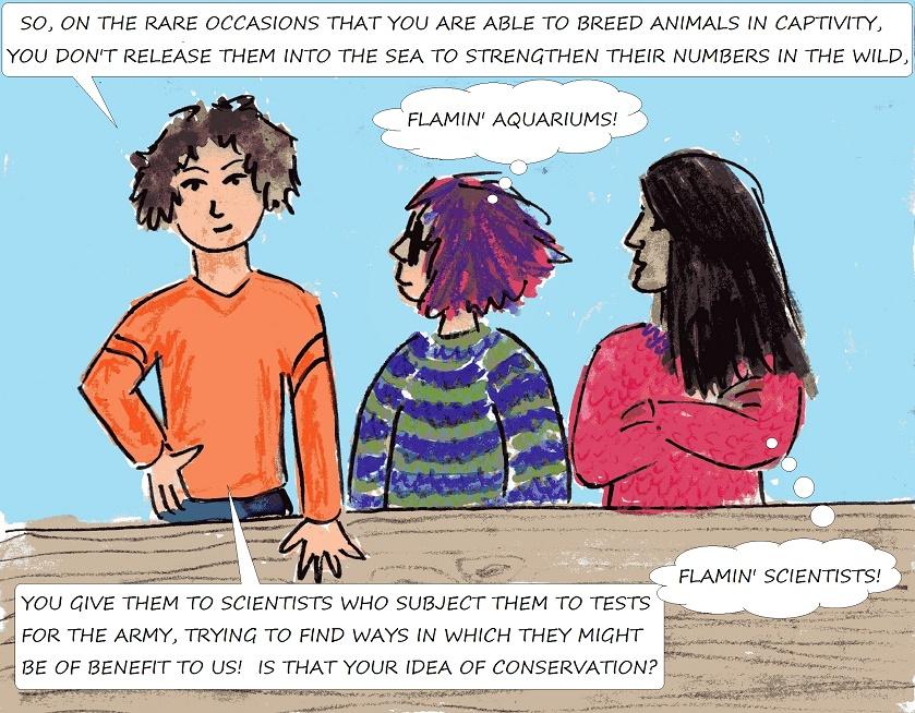 vegan kids comic