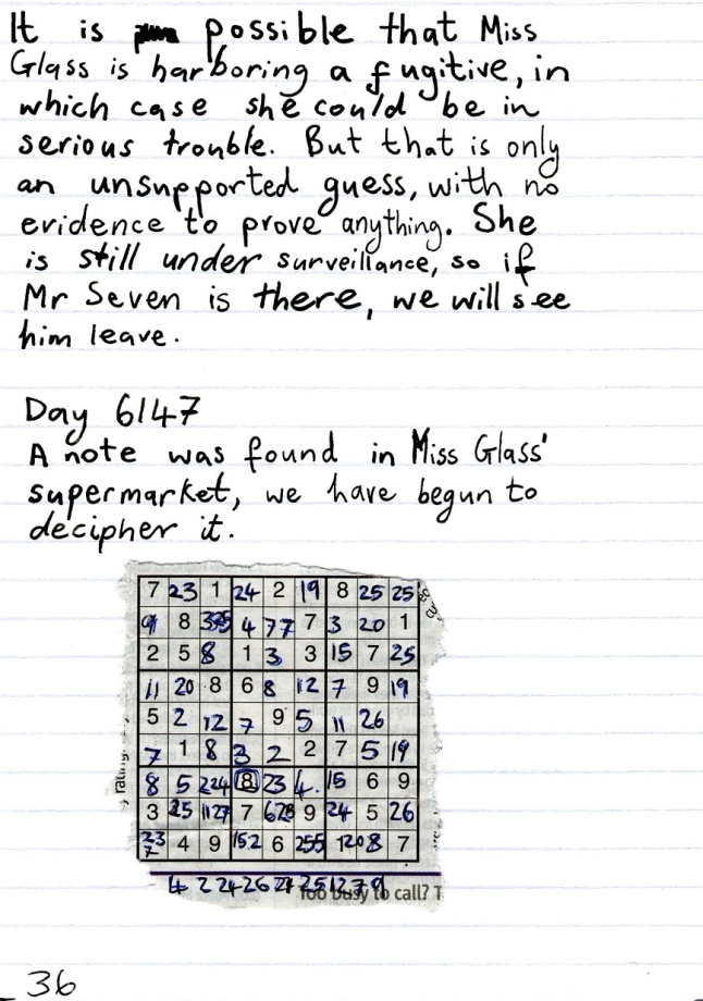 code breaking story
