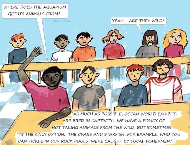 vegan comics