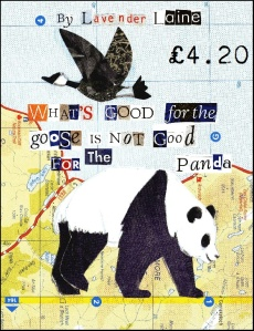 What's good for the goose is not good for the panda